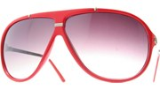 Aviator Metal Accents - RedSlvr/Smoke