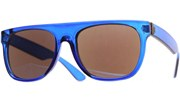 Clear Minimalist Revo Sunglasses - Blue/BlueRevo