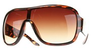 Retro Plastic Aviator II - Tortoise/Brown