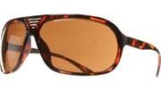 Middle Vent Aviators : UV 400 - Tortoise/Brown