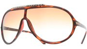Rhinestone Aviators - Tortoise/Brown