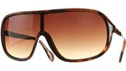 Glossy Wides - Tortoise/Brown