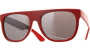 The Minimalist Sunglasses - Red/Black