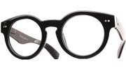 Rounded Thick Glasses - Black/Clear