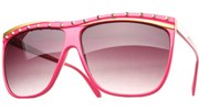 Party Rock Sunglasses II - Magenta/Black