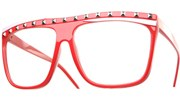 Party Rock Glasses - Red/Clear