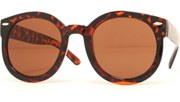 Super Round Cool Sunglasses - Tortoise/Brown