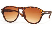 Side Arrow Aviators - Tortoise/Brown
