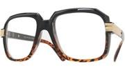 80s Run DMC Glasses - BlkTort/Clear