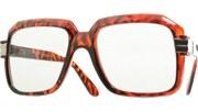 80s Run DMC Glasses - Tortoise/Clear